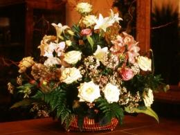 Kosz Kwiatów Mieszanych