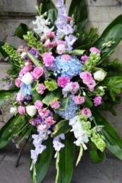 Wieniec z Kwiatami Letnimi