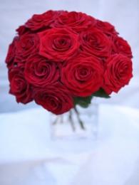 Bukiecik Czerwonych Krótkich Róż